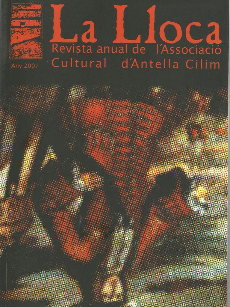 CILIM Revista La Lloca - Antella